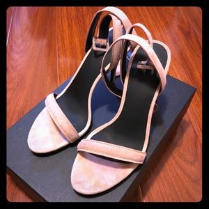 Alexander Wang Antonia sandals - Blush Pink, 38